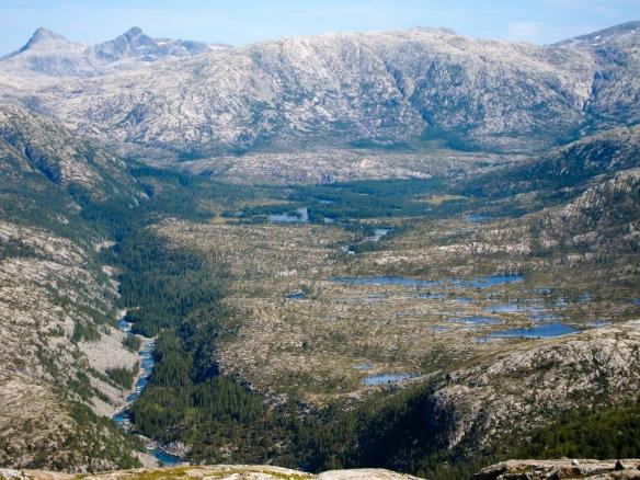 Det gjemte landet - Lomsdalen der Lars Monsen startet sin strabasiøse ferd