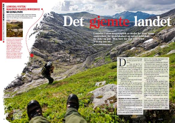 Marius Nergård Pettersen deler gjerne sine turerfaringer med oss!