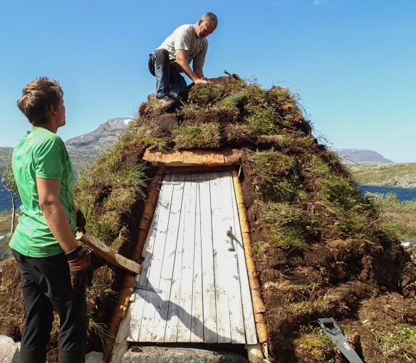 Siste torva på plass med hjelp fra lokal SNO Carl Norberg